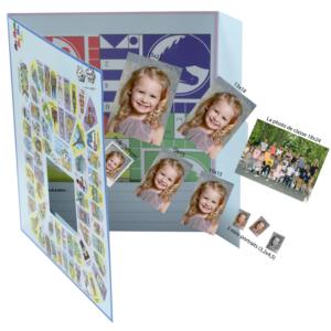 AD PHOTOGRAPHIE - photographie scolaire - pochette